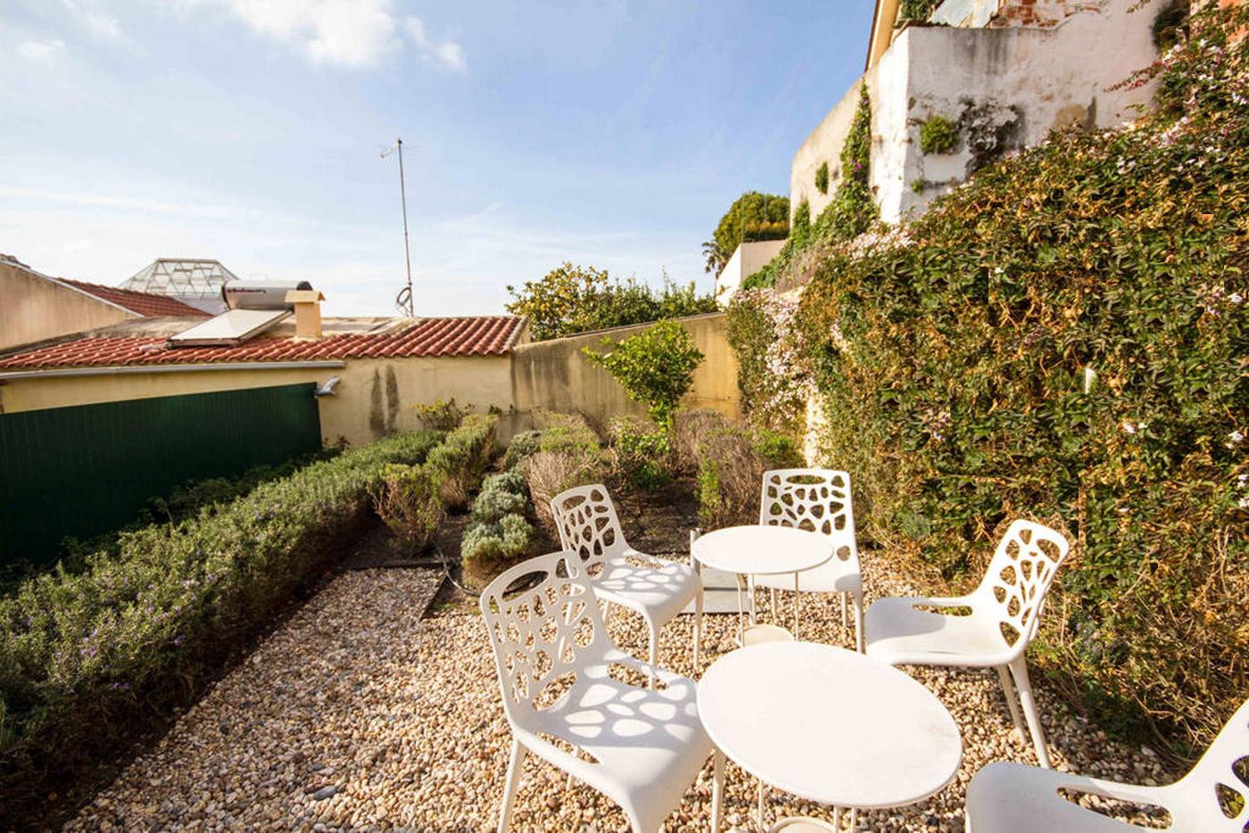 Vintage Chic Terrace and Garden | Apartments Alfama